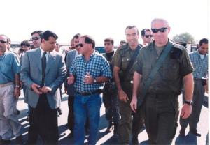 قائد فتحاوي مع الصهاينة