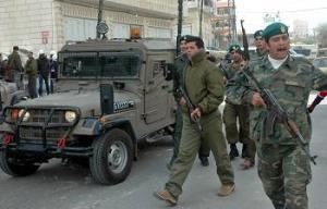 قوات عباس في دورية مشتركة مع الصهاينة